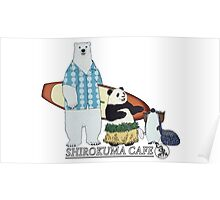 Shirokuma Cafe Poster