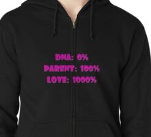 Step Adoptive and Foster Mom's Rock Zipped Hoodie