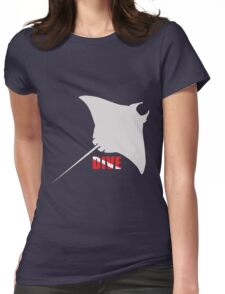 I love to dive Womens Fitted T-Shirt