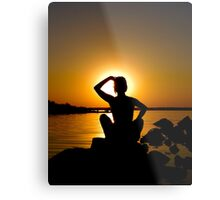 Evening relaxation Metal Print