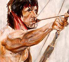 Rambo by Martin  Kumnick