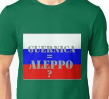 Aleppo the new Guernica? Unisex T-Shirt