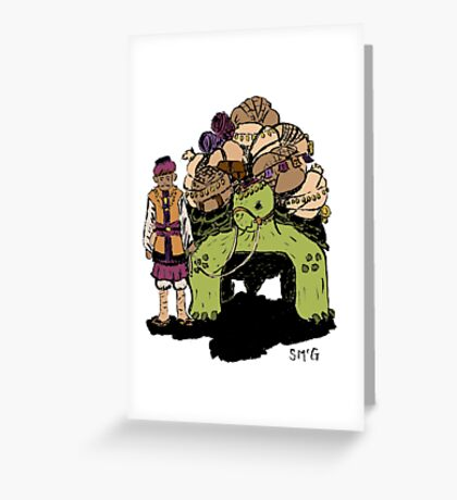 The Spice Merchant Greeting Card