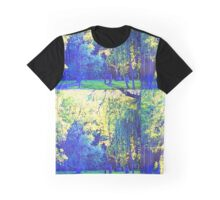 Blue trees Graphic T-Shirt