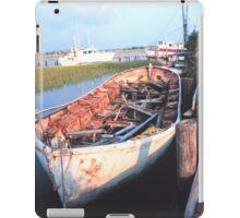 Aged Row Boat iPad Case/Skin