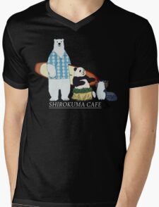 Shirokuma Cafe Mens V-Neck T-Shirt