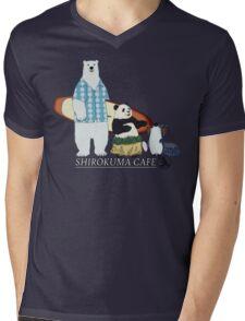 Shirokuma Cafe Mens V-Neck T-Shirt