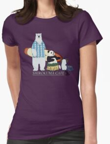 Shirokuma Cafe Womens Fitted T-Shirt