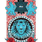 All Seeing Eye Lion by shanin666