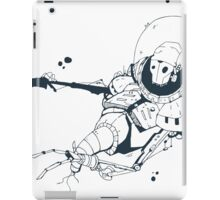 Dead astronaut in space iPad Case/Skin