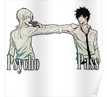 Psycho Pass - Shogo and Shinya Poster