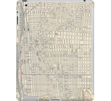 Vintage Map of Detroit (1895) iPad Case/Skin