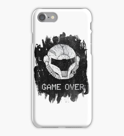 GAME OVER !!!!! iPhone Case/Skin