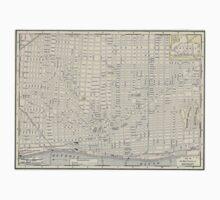 Vintage Map of Detroit (1895) T-Shirt