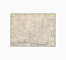 Vintage Map of Detroit (1895) Unisex T-Shirt