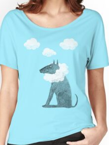Head in Clouds Dreamer Dog Women's Relaxed Fit T-Shirt