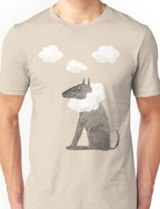 Head in Clouds Dreamer Dog T-Shirt