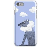 Head in Clouds Dreamer Dog iPhone Case/Skin