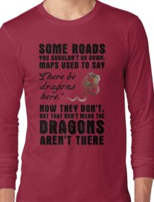 Fargo TV series - There be Dragons Long Sleeve T-Shirt