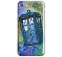 TARDIS from Dr Who iPhone Case/Skin