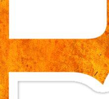 °BASEBALL° Pittsburgh Pirates Rust Sticker