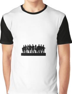 THE TEAM ( WALKING DEAD ) Graphic T-Shirt