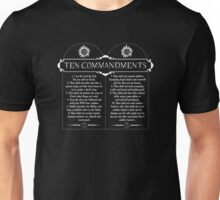 Supernatural 10 Commandments Unisex T-Shirt