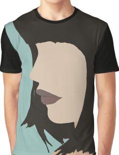 Cara - a modern, minimal portrait Graphic T-Shirt