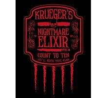 Krueger's Nightmare Elixir Photographic Print