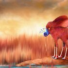 Blue Nosed  by Martina Stroebel