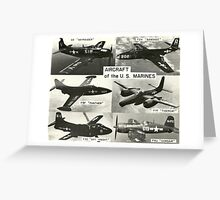 Aircraft of the US Marines (USMC) Greeting Card