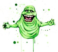 Slimer  by LVBART