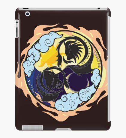 Sun's roar & Moon's power iPad Case/Skin