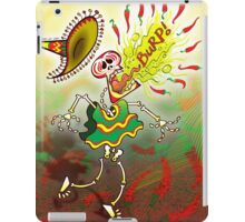 Mexican Skeleton Burping Hot Chili Peppers iPad Case/Skin