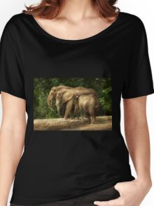 Animal - Elephant - Tight knit family Women's Relaxed Fit T-Shirt