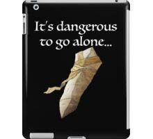 It's dangerous to go alone... iPad Case/Skin