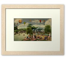 The Greenhouses Framed Print