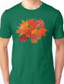 Orange Leaves Unisex T-Shirt