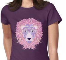 head of lion Womens Fitted T-Shirt