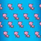 Cute Piggies by LolaCrayola
