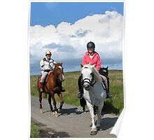 Riding Lesson - Isle of Lewis Poster