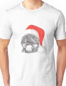 Staffie Smile Christmas - Staffordshire Bull Terrier Unisex T-Shirt