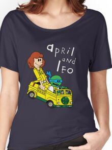 April and Leo Women's Relaxed Fit T-Shirt