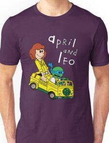 April and Leo Unisex T-Shirt