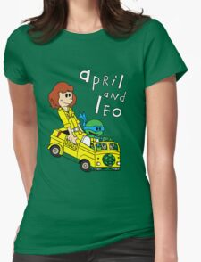April and Leo Womens T-Shirt