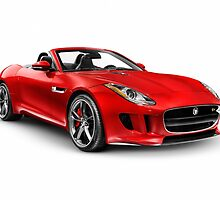 2014 Jaguar F-Type S sports car art photo print by ArtNudePhotos
