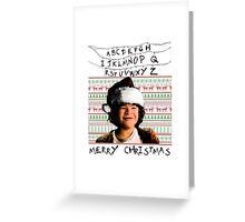 Stranger Things Christmas (Dustin) Greeting Card