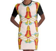 Iron uterus Graphic T-Shirt Dress