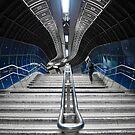 Underground Stair by Svetlana Sewell