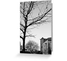 Winter on Flinton Street Greeting Card